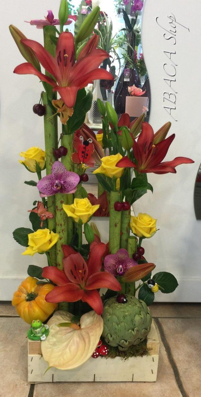 Idées fleurs cadeaux